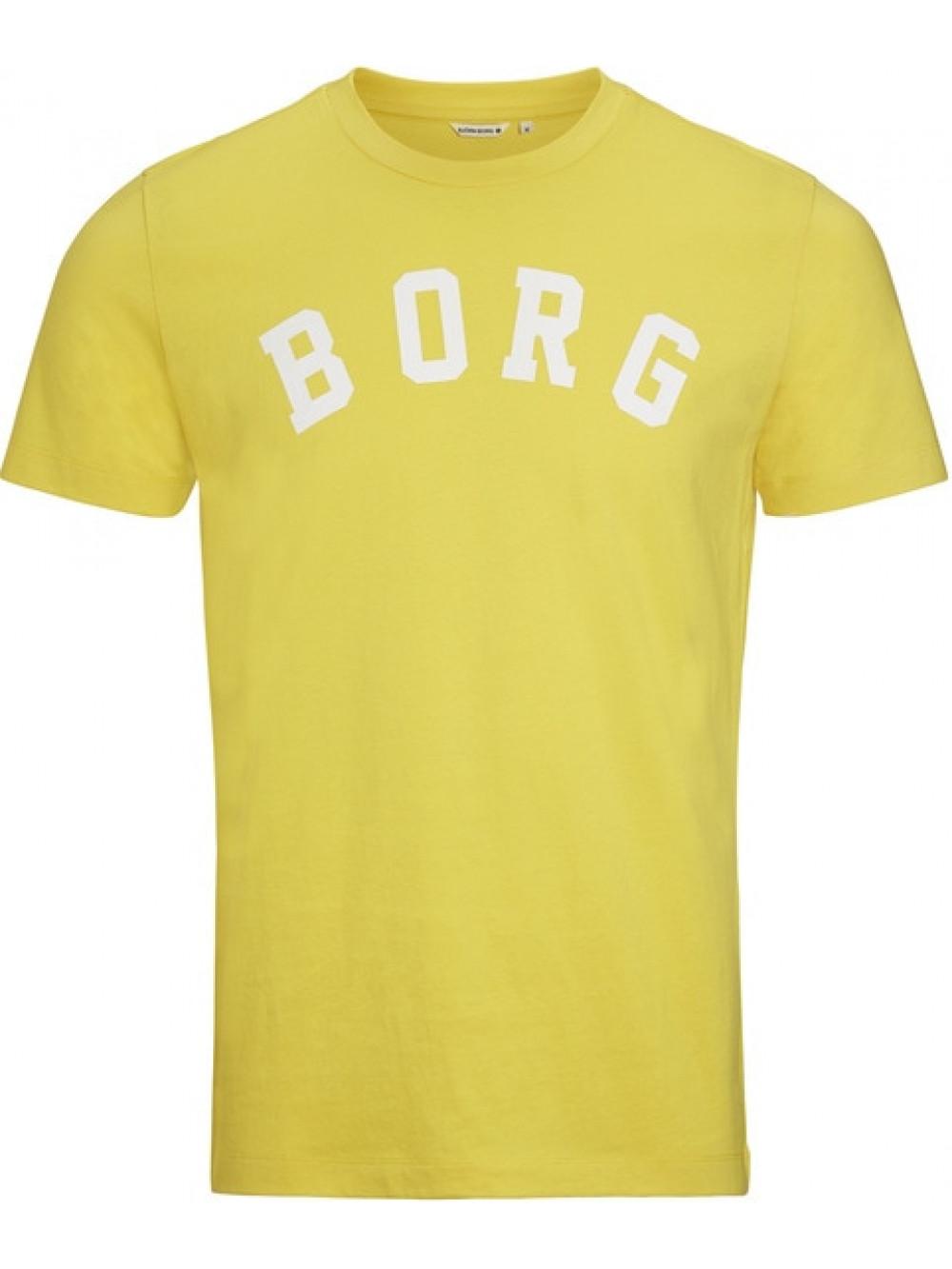 Pánske tričko Björn Borg Berny Tee Maize Yellow žlté