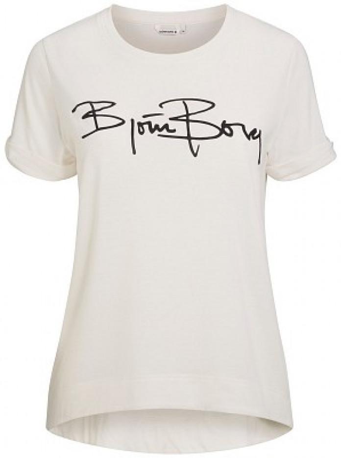 Dámske tričko Björn Borg Dessi Tee Jet Stream biele
