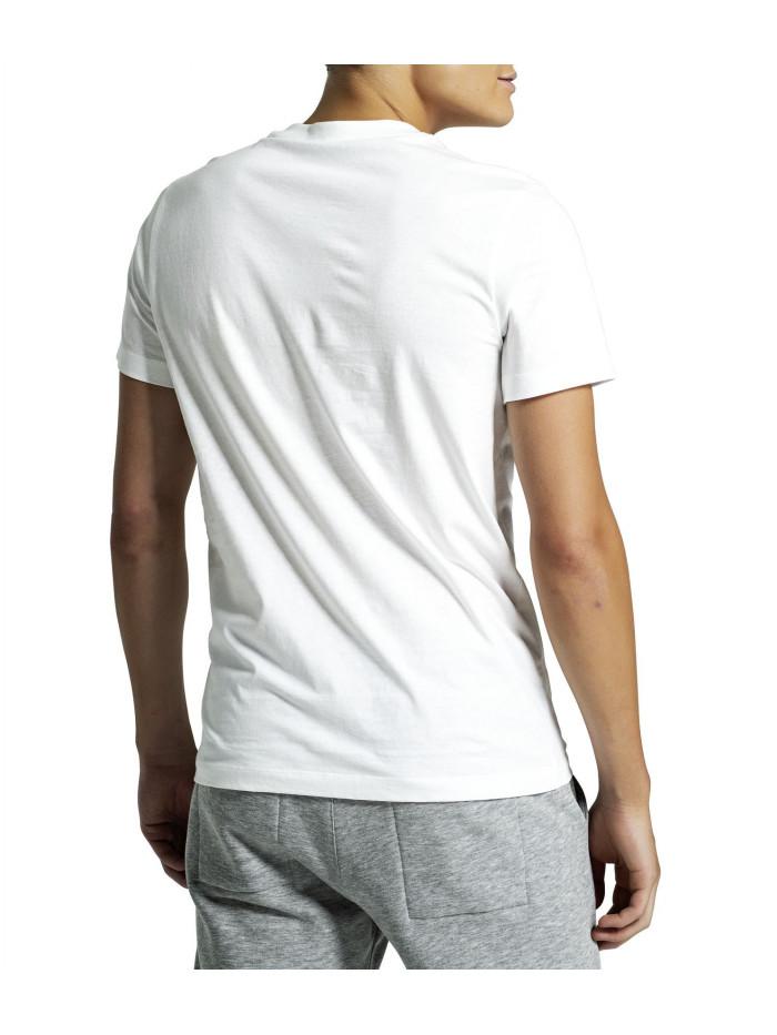 Pánske tričko Björn Borg Berny Tee Brilliant White biele