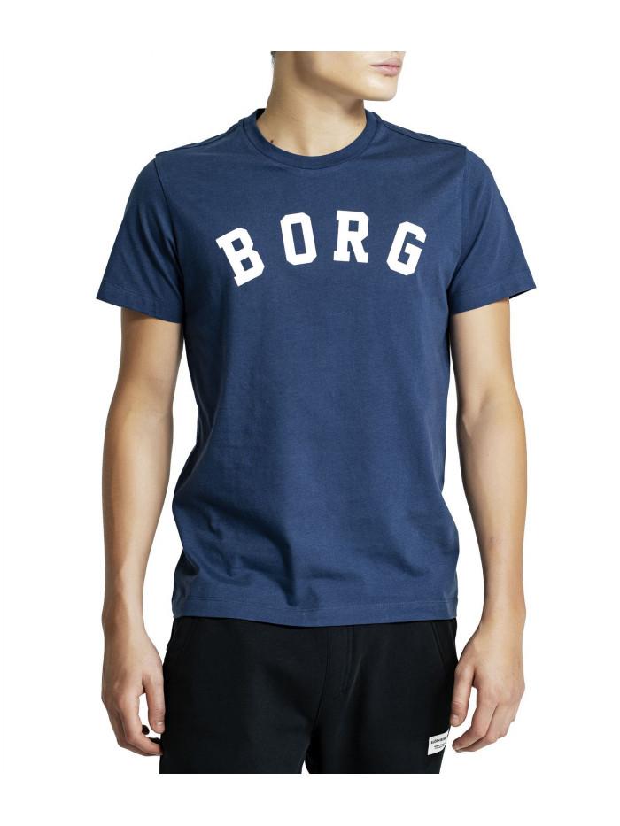 Pánske tričko Björn Borg Berny Tee Insignia Blue modré