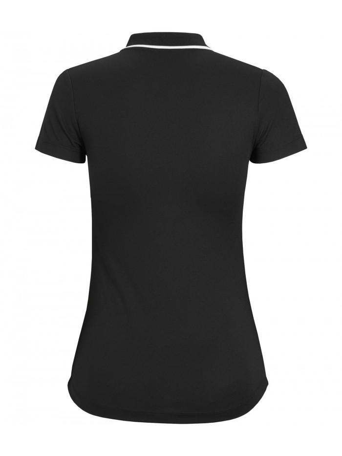 Dámske tričko Björn Borg Talise Polo čierne