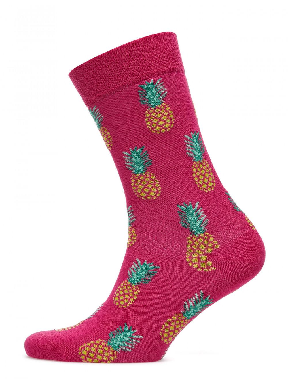 Ponožky Björn Borg La Pineapple Mini ružové