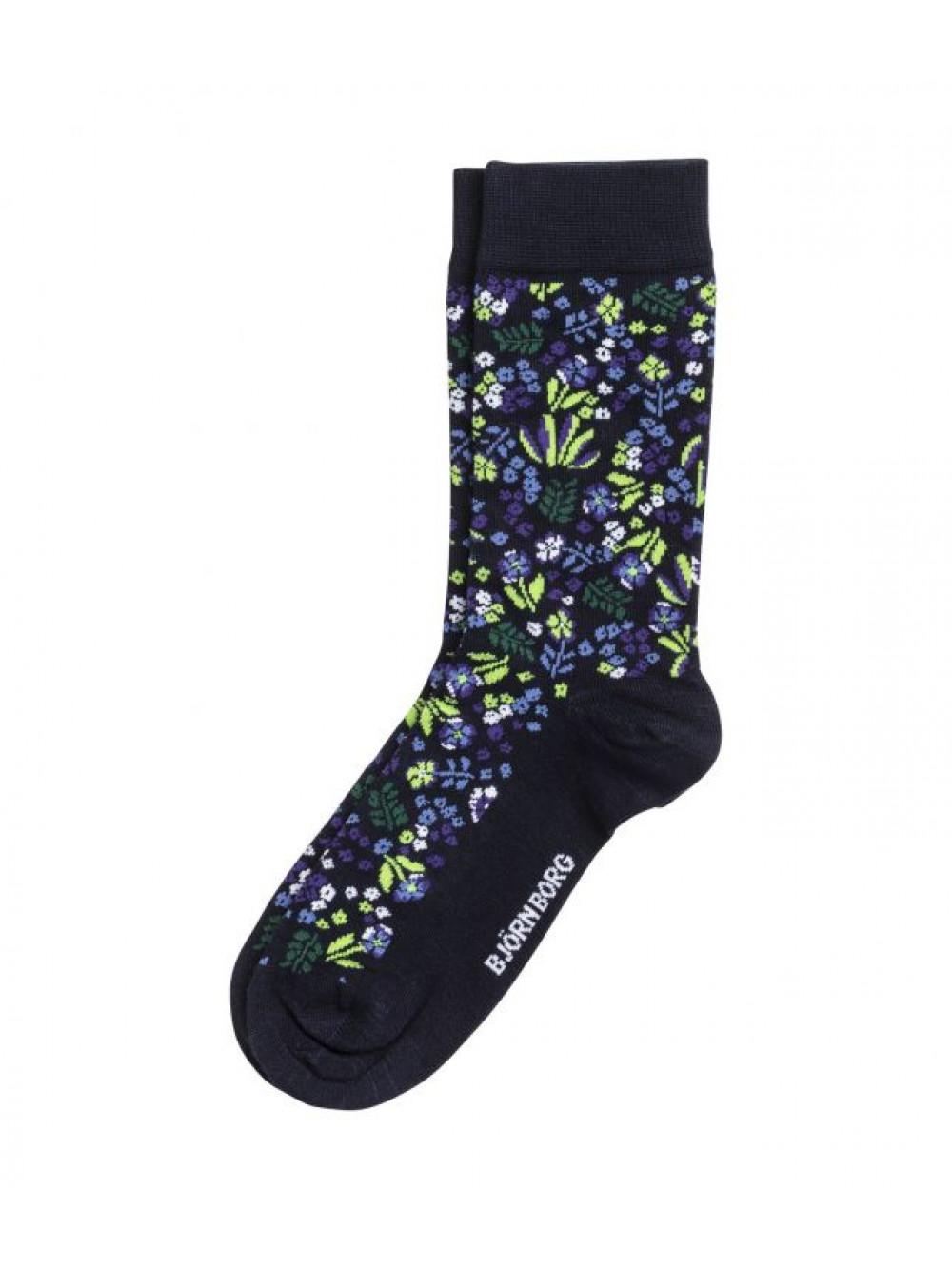 Ponožky Björn Borg Tiny Flower modré