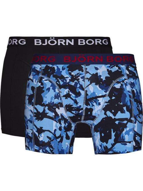 Pánske boxerky Björn Borg Branch Cotton Stretch 2-pack