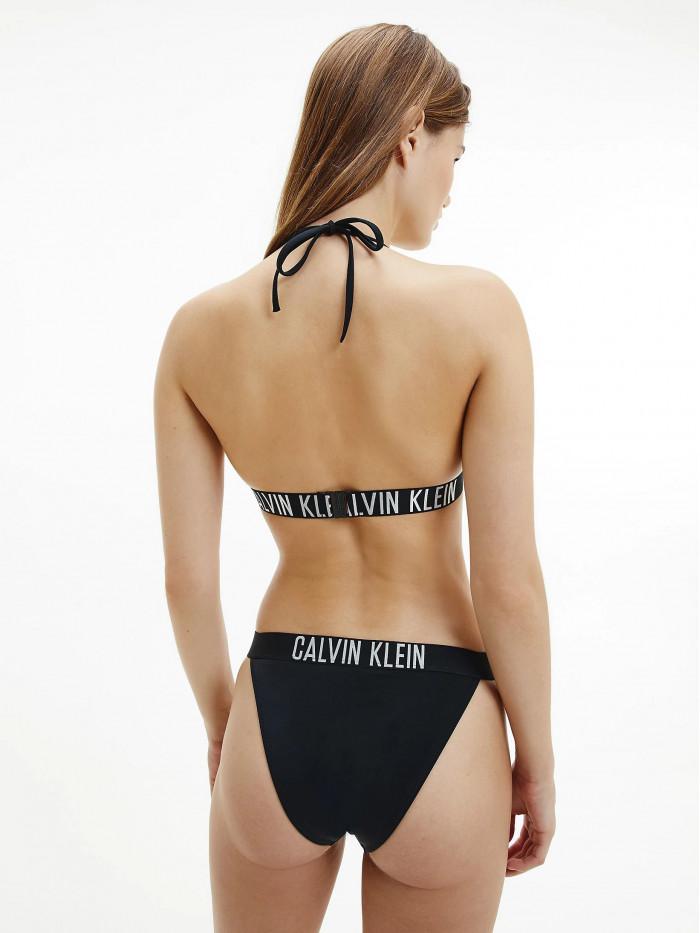 Dámsky Plavky Triangle Bikini Top Calvin Klein Intense Power čierny