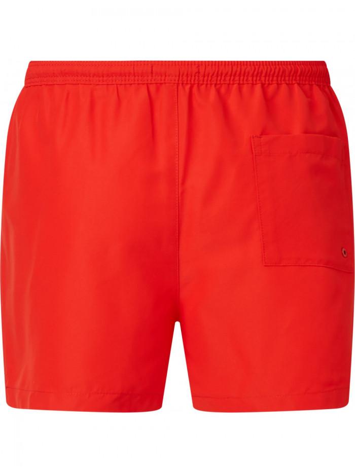 Pánske Plavky Calvin Klein Drawstring Regular Fit červené