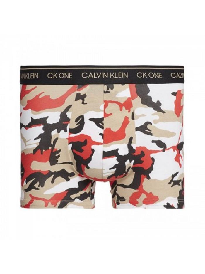 Pánske boxerky Calvin Klein CK One Army viacfarebné