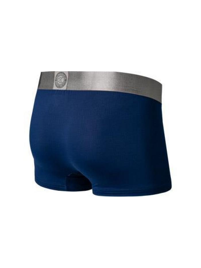 Pánske boxerky Calvin Klein Icon Trunk modré