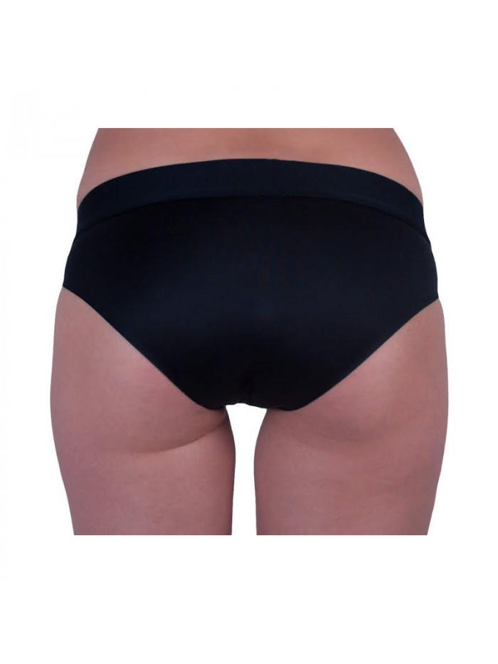 Dámske nohavičky Calvin Klein W/Commodore blue Bikini čierne