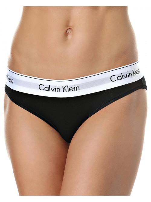 Dámske nohavičky Calvin Klein Modern Cotton Bikini čierne