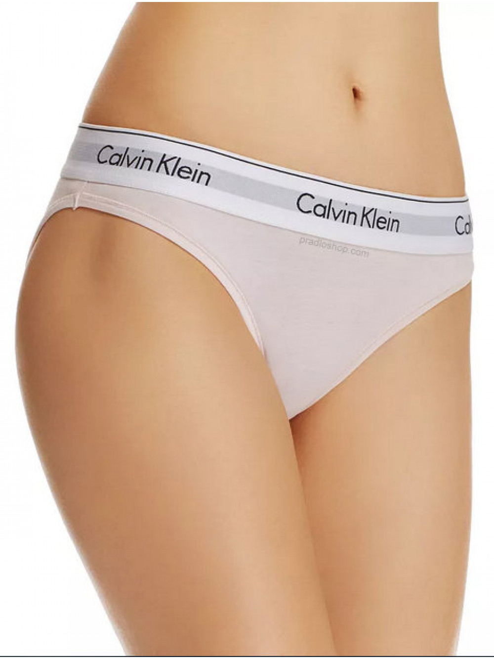 Dámske nohavičky Calvin Klein Modern Cotton Bikini svetloružové
