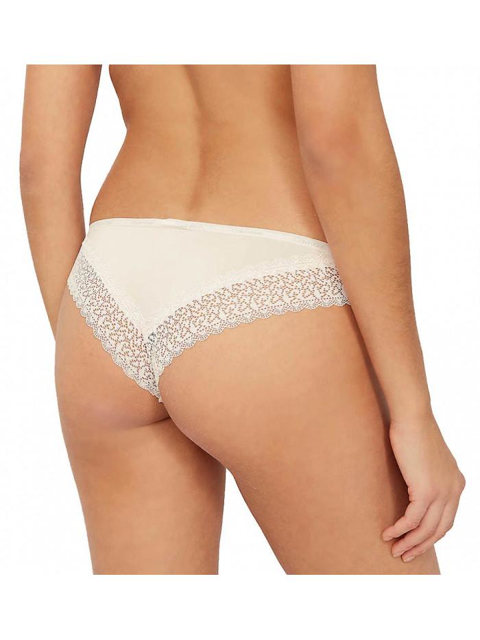 Dámske brazílske nohavičky Calvin Klein Flirty biele