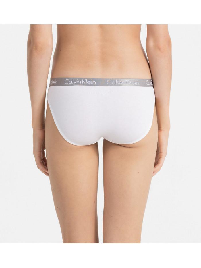 Dámske nohavičky Calvin Klein Radiant Cotton Bikini biele