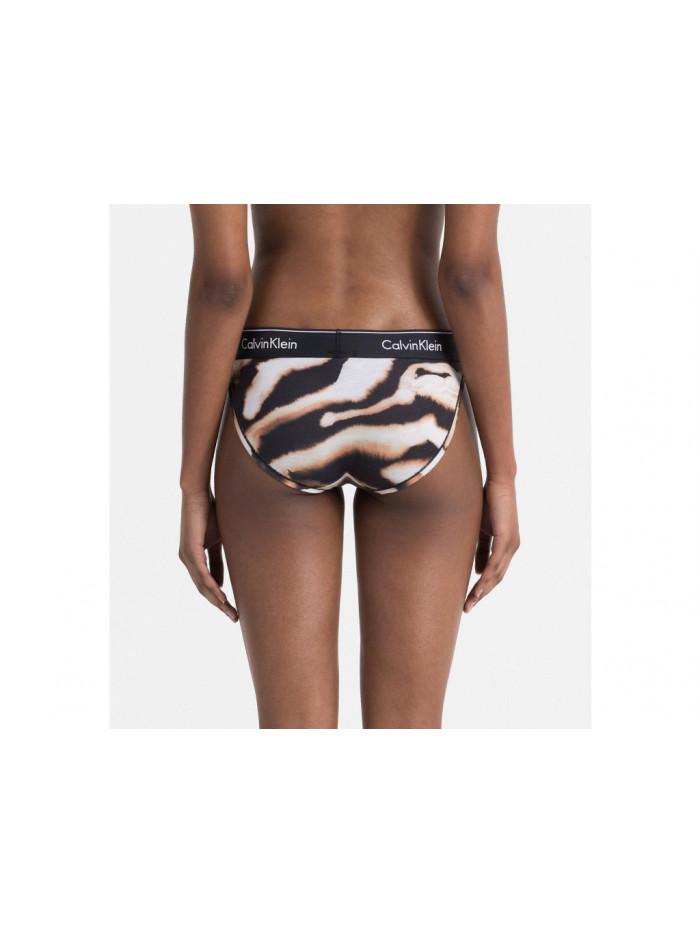 Dámske nohavičky Calvin Klein Modern Cotton Bikini tigrované