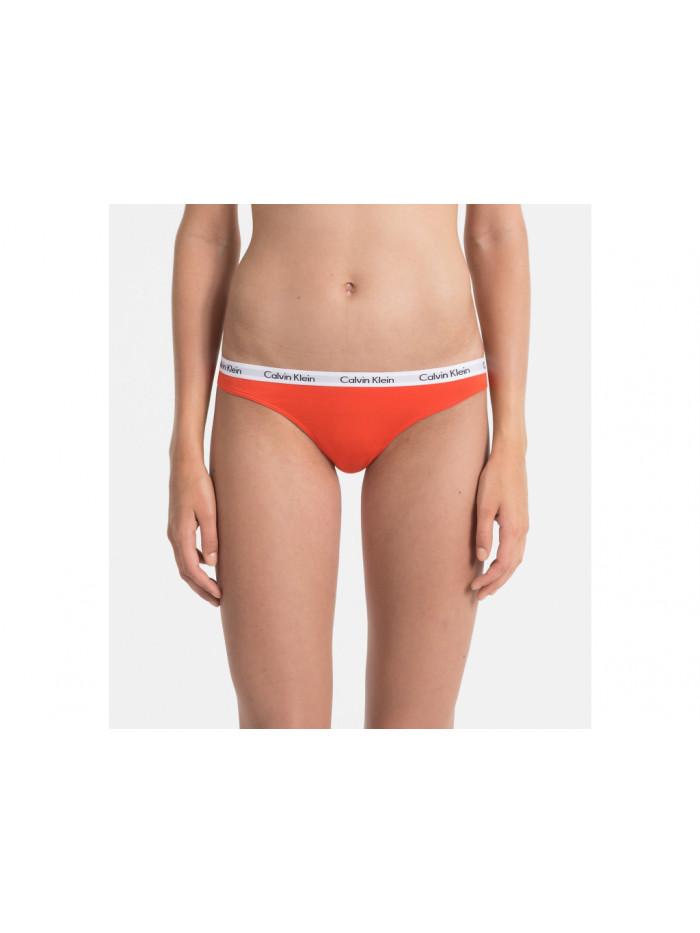 Dámske tangá Calvin Klein Carousel Thong oranžové