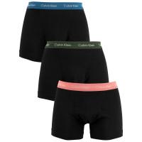 Pánske boxerky Calvin Klein Cotton Stretch čierno-...