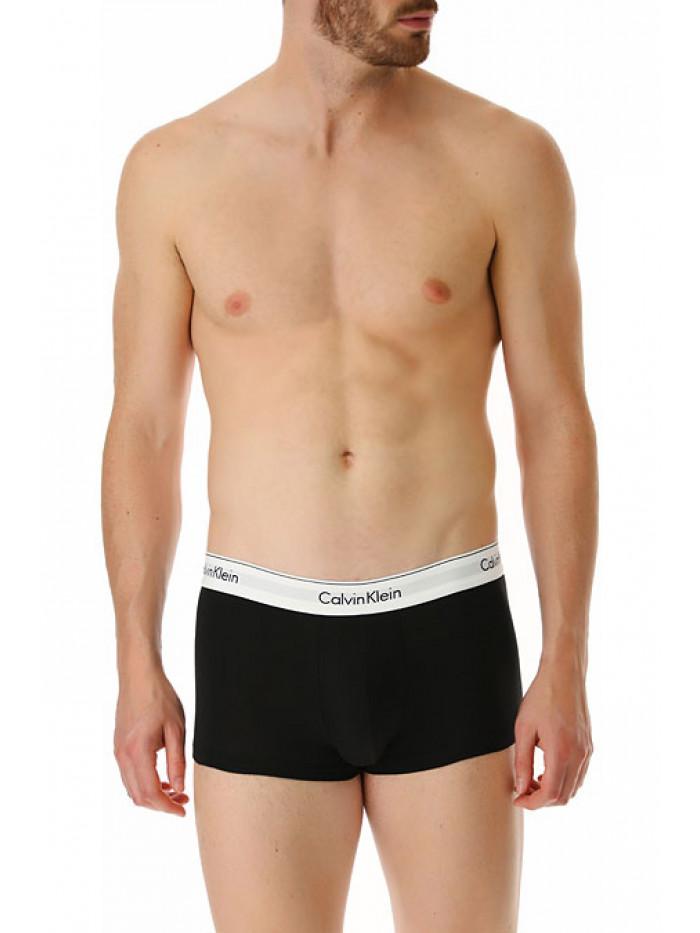 Pánske boxerky Calvin Klein Modern Cotton Stretch čierne 2-pack
