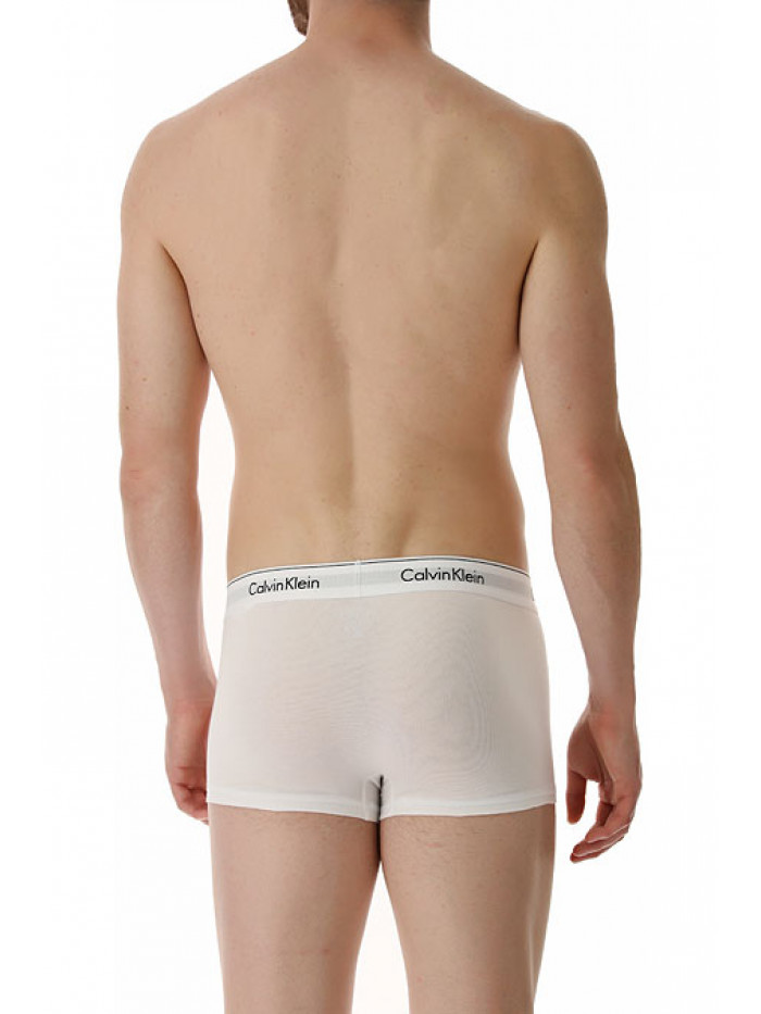 Pánske boxerky Calvin Klein Modern Cotton Stretch biele 2-pack