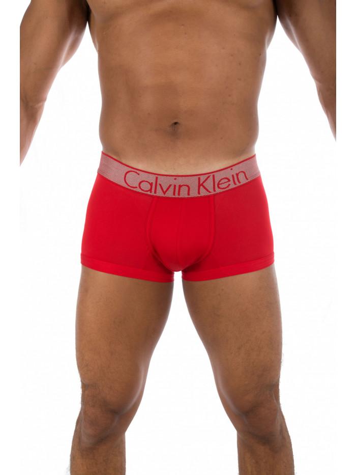 Pánske boxerky Calvin Klein Customized Stretch červené