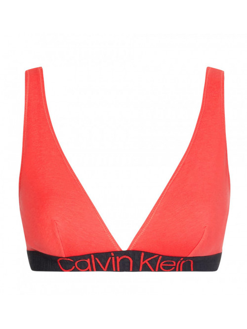 Dámska podprsenka Calvin Klein Unlined Triangle červená