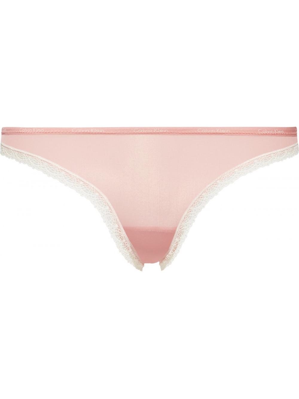 Dámske tangá Calvin Klein Bikini Bottoms Up Ružové