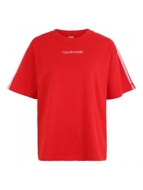 Dámske tričko Calvin Klein SS Crew Neck červené