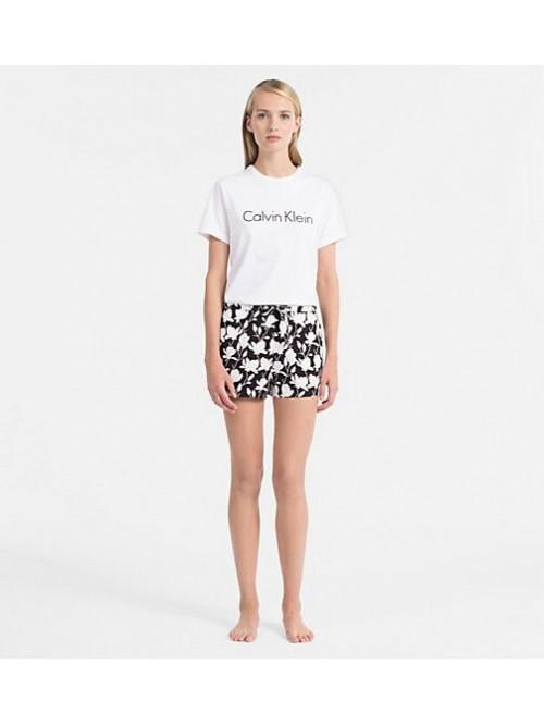 Dámske tričko Calvin Klein S/S Crew Neck biele