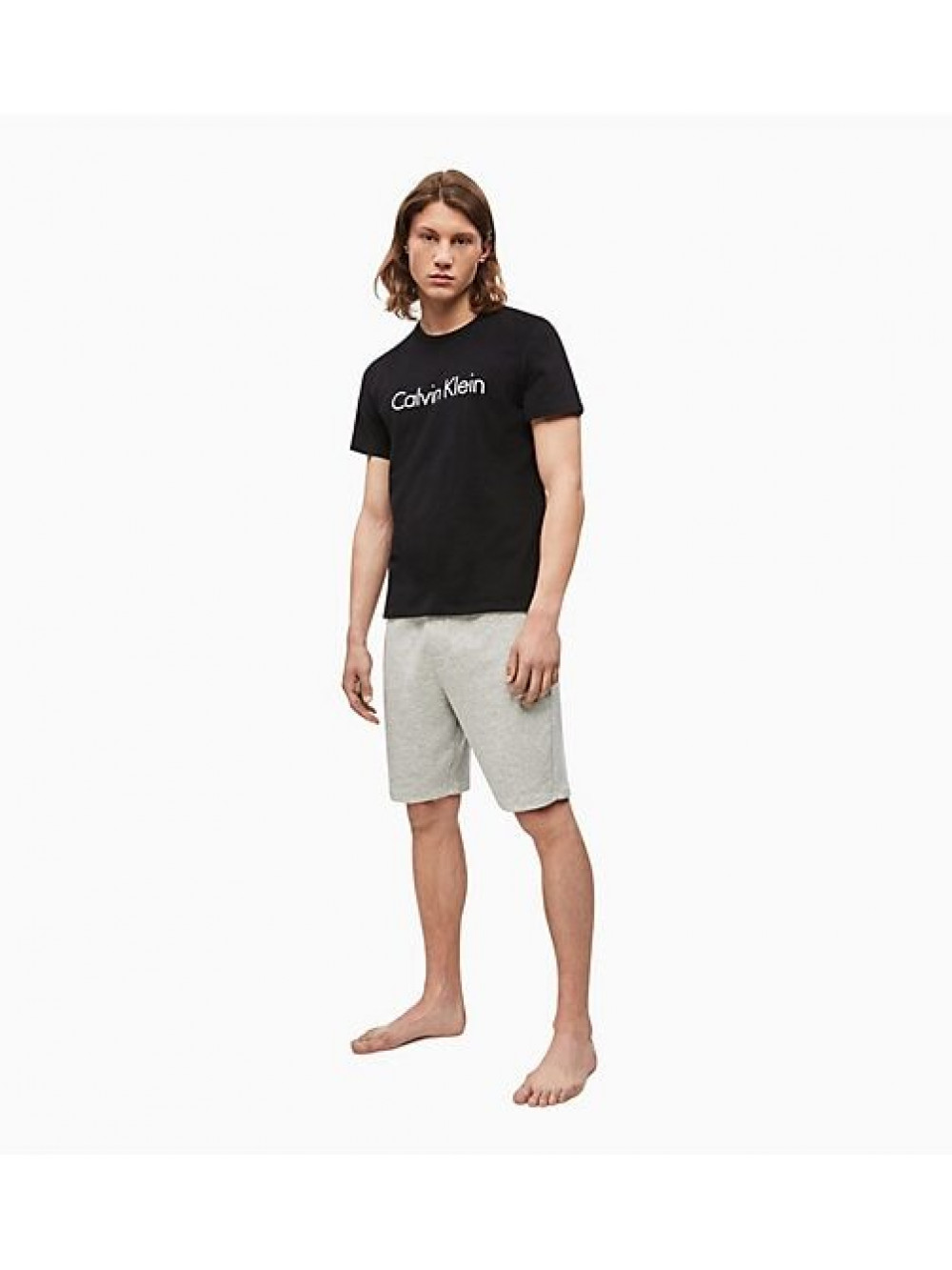 Pánske tričko Calvin Klein Comfort Cotton SS Crew Neck čierne