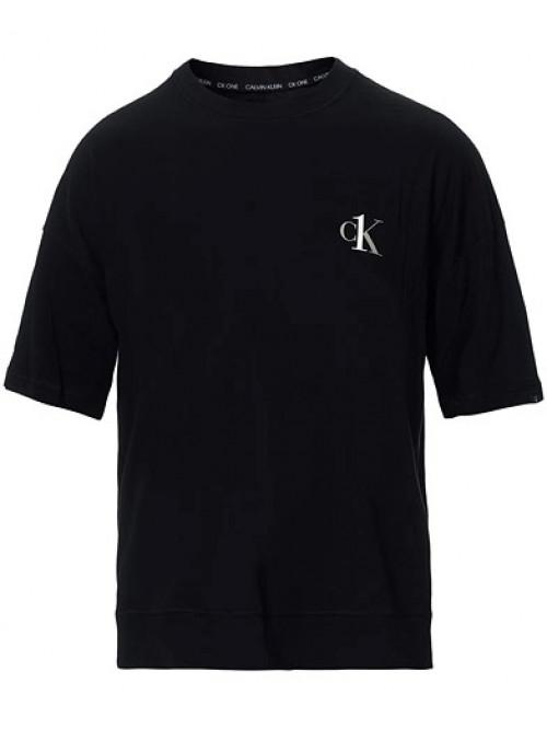 Pánske tričko Calvin Klein CK ONE SS Crew Neck čierne