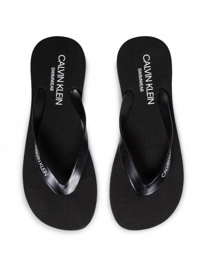Pánske žabky Calvin Klein Swimwear čierne