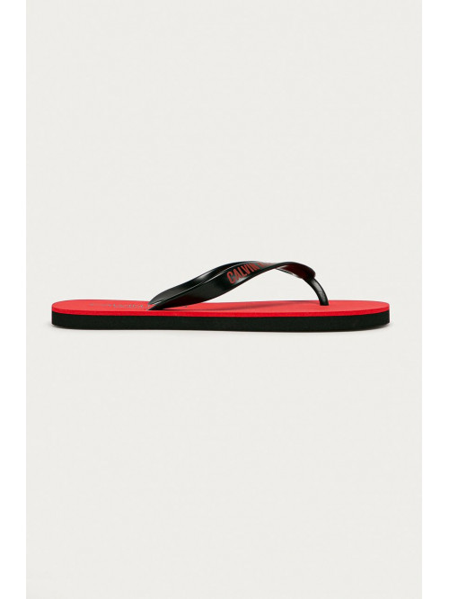 Pánske žabky Calvin Klein Swimwear červené