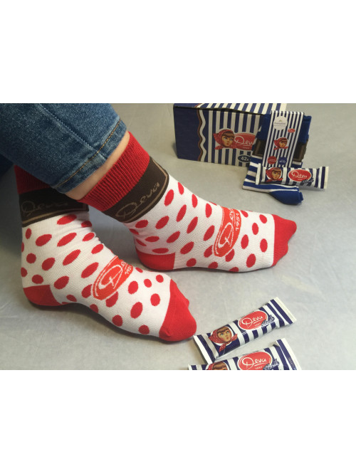 Ponožky DEVA FunnySOX červené