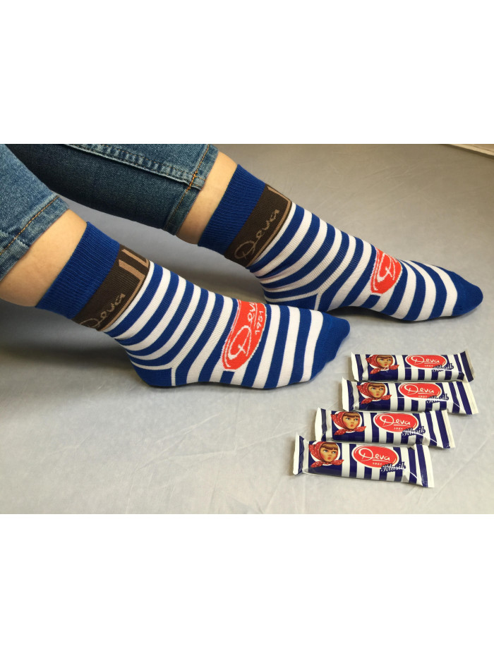 Ponožky DEVA FunnySOX modré