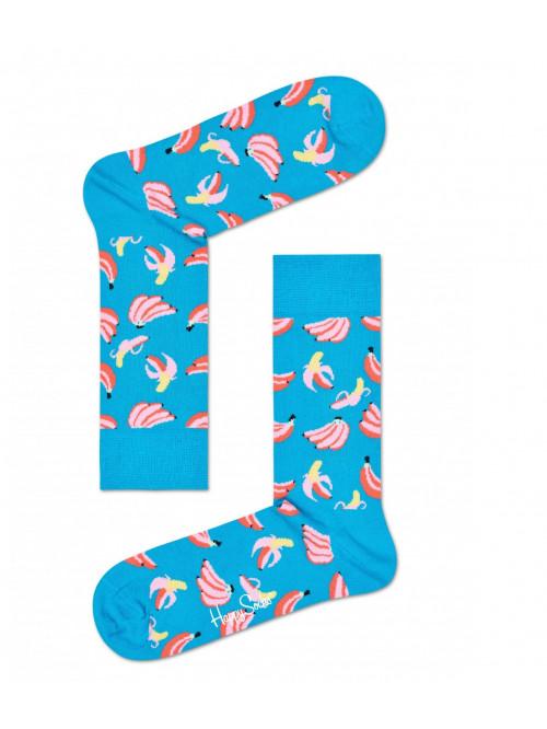 Ponožky Happy Socks Banana tyrkysové