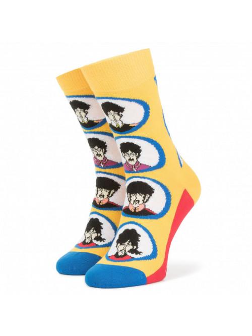 Ponožky Happy Socks The Beatles Submarine žlté