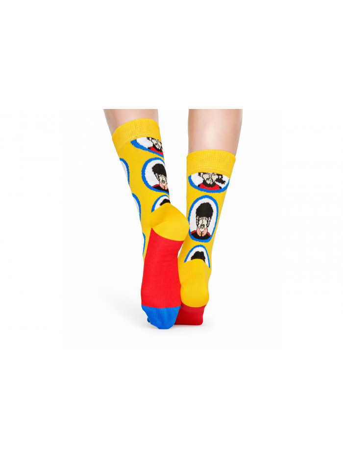 Ponožky Happy Socks The Beatles Submarine žlté