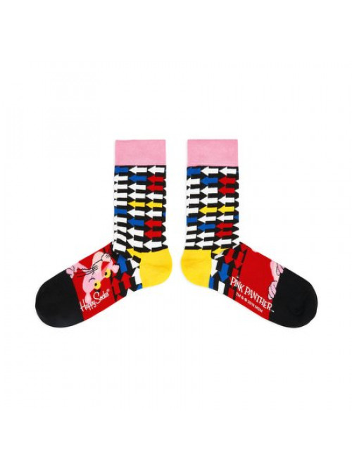Ponožky Happy Socks Pink Panther Jet Pink