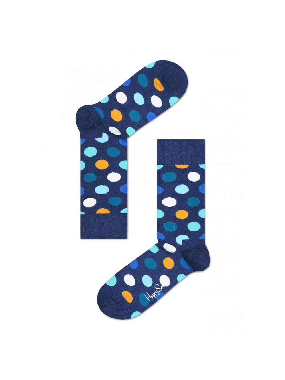 Ponožky Happy Socks Big Dot Color - modré