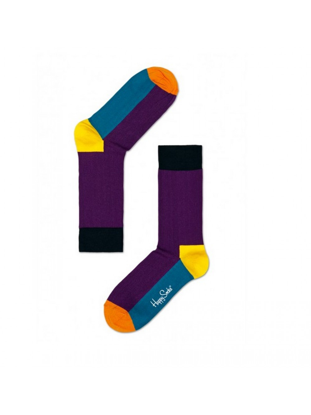 Ponožky Happy Socks Five Color - fialové