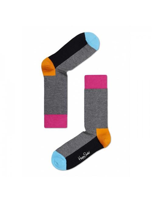 Ponožky Happy Socks Five Color - šedé