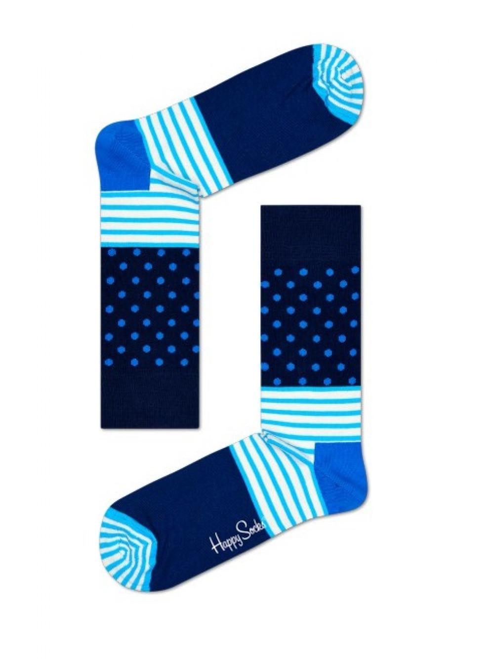 Ponožky Happy Socks Stripe Dot - modré