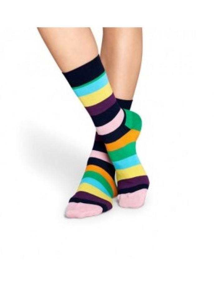 Ponožky Happy Socks Stripe - tmavomodré