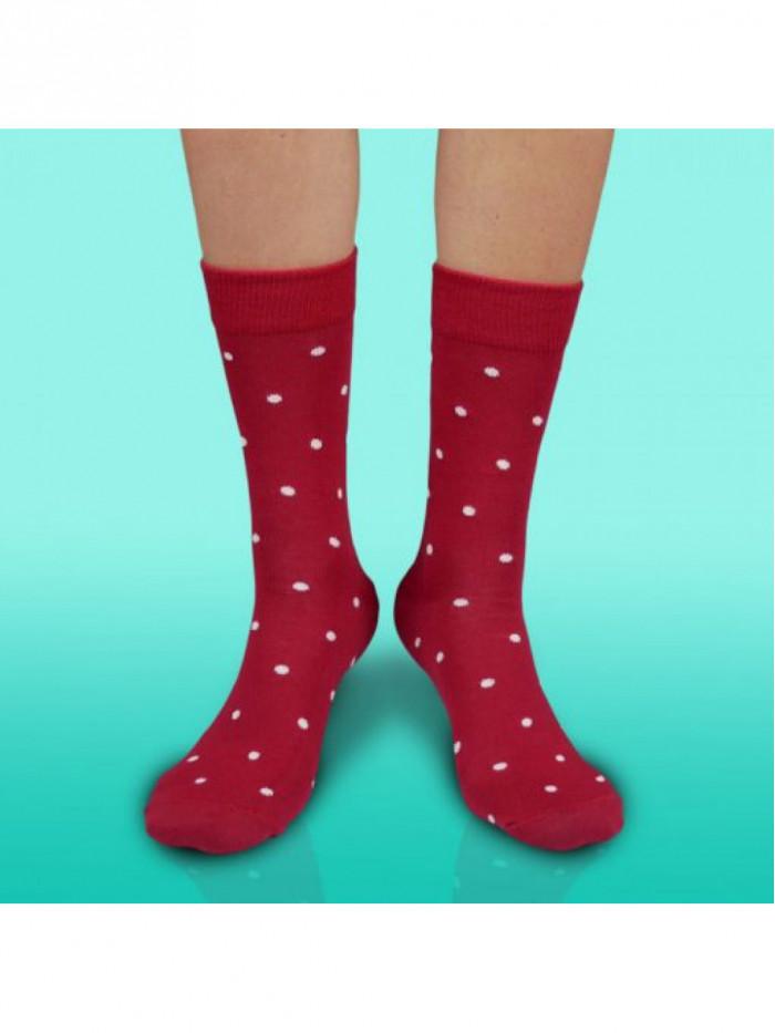 Ponožky Gentleman Bordový Hesty Socks