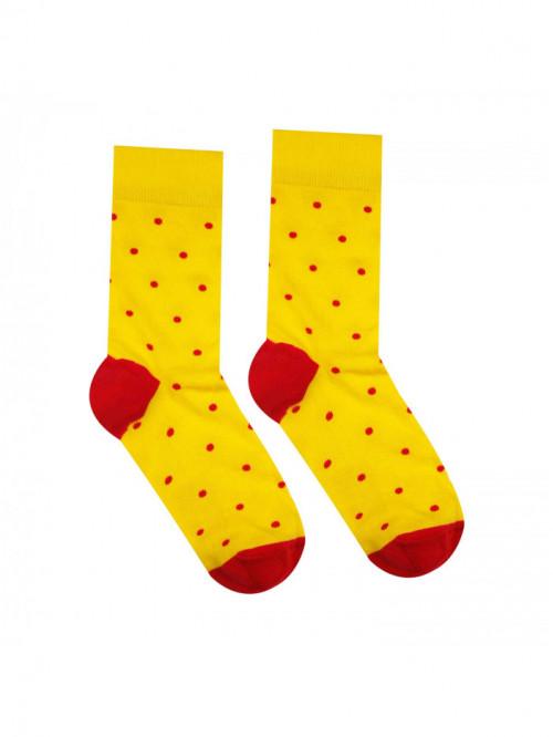 Ponožky Gentleman Žltý