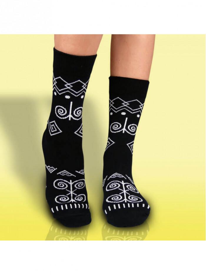 Ponožky Čičman čierny