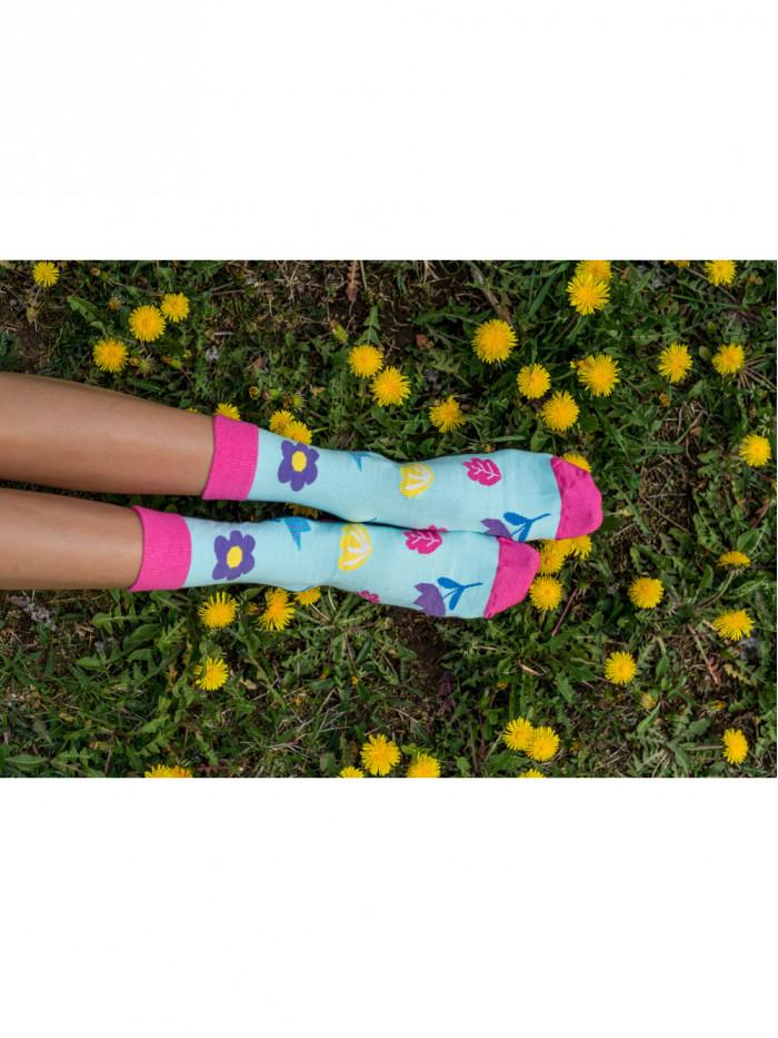 Ponožky Jarný kvet Hesty Socks