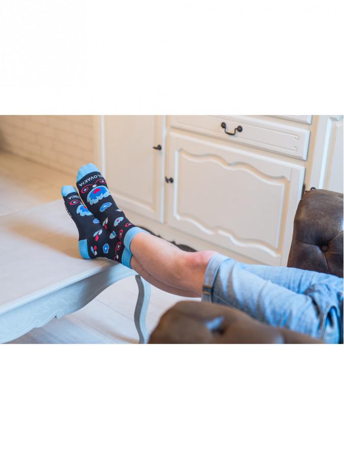 Ponožky Ľudový kvet