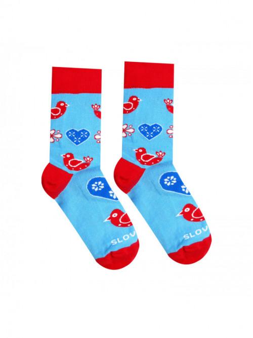 Ponožky Ľudový vtáčik Hesty Socks