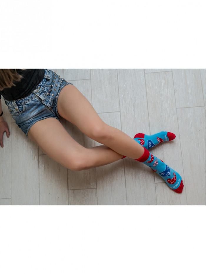 Ponožky Ľudový vtáčik