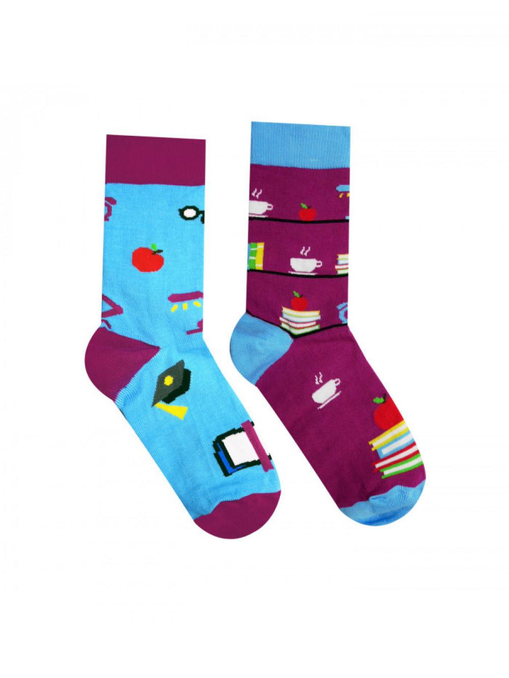 Ponožky Knihomoľ